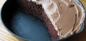 Decadent Chocolate Cake in a Skillet