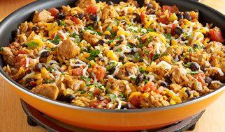 Zesty TexMex Chicken Skillet Dinner