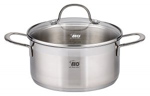 ELO Top Collection 18/10 Stainless Steel Kitchen Induction Cookware Pots and Pans Set